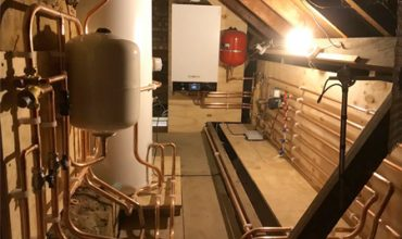Full Heating + Hot/Cold Water Installation