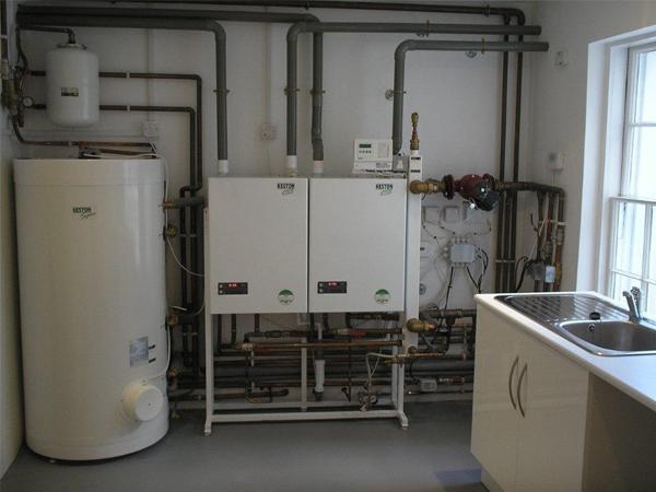 full commercial boiler installation
