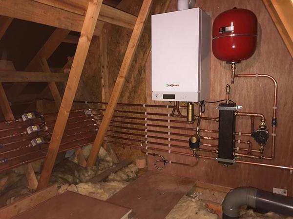 new heating installation welwyn