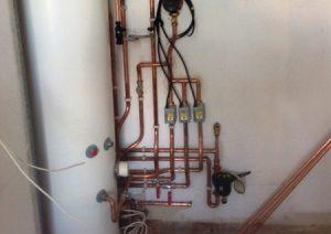 uvc boiler installation